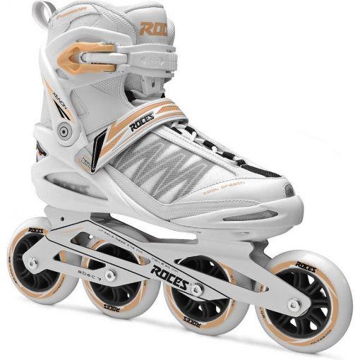 Roces dames inline skate Xenon 2.5 W 84 - White/Salmon