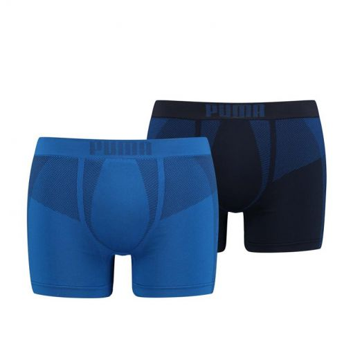 PUMA SEAMLESS ACTIVE BOXER 2P - 001 blue