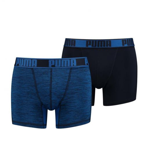 PUMA ACTIVE GRIZZLY MELANGE BOXER 2 - 001 blue