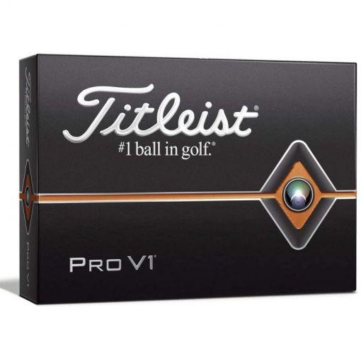 Titleist golfballen Pro V1 - Zwart