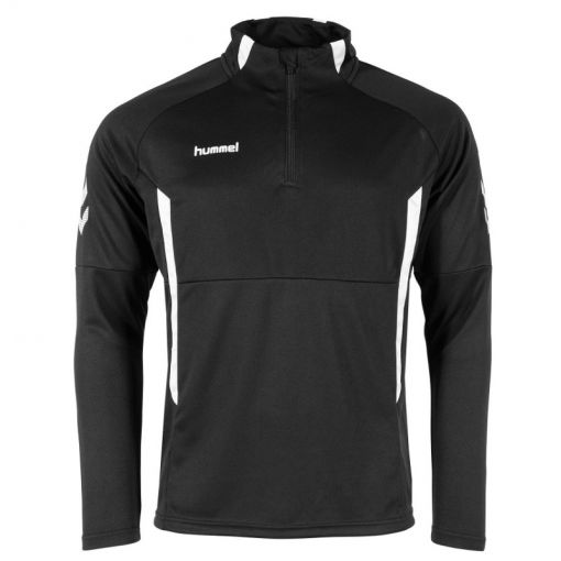 Hummel trainingsjack Authentic 1/4 Zip Top - Zwart