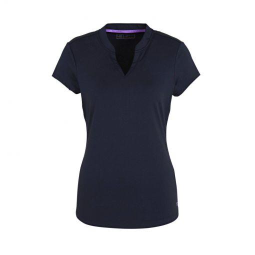 Sjeng Sports dames t-shirt Luz - Navy