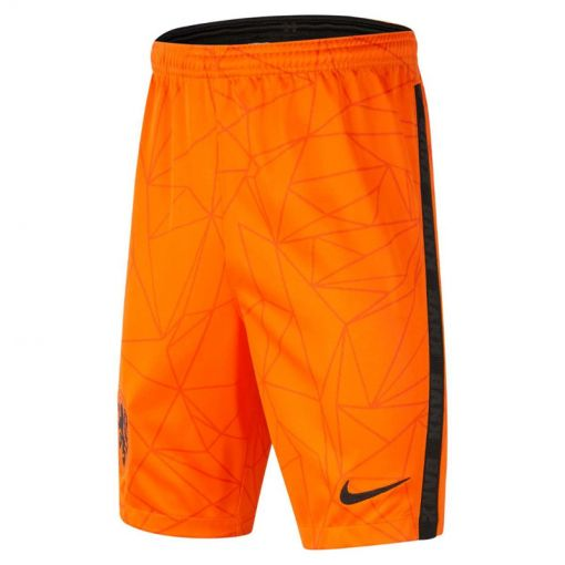 KNVB Y NK BRT STAD SHORT HM,SAFETY - 819 SAFETY ORANGE/BLACK