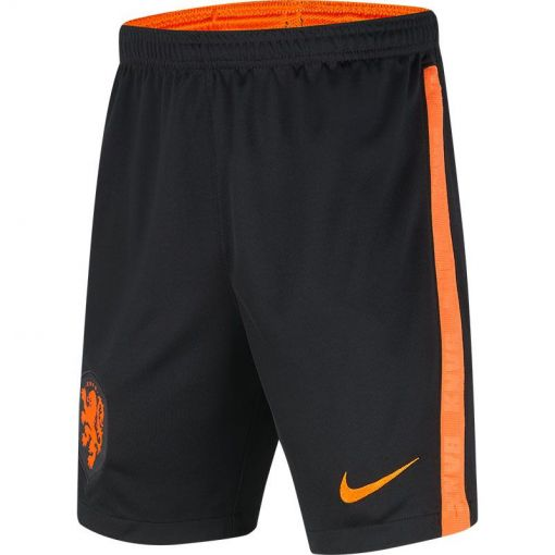 KNVB Y NK BRT STAD SHORT AW,BLACK/S - 010 BLACK/SAFETY ORANGE