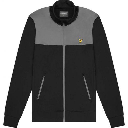 Tech Track Jacket - W176 True Black/Rock Grey