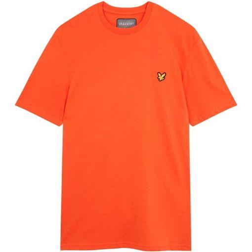 Lyle & Scott Martin Ss T-Shirt - Z785 Amber Blaze
