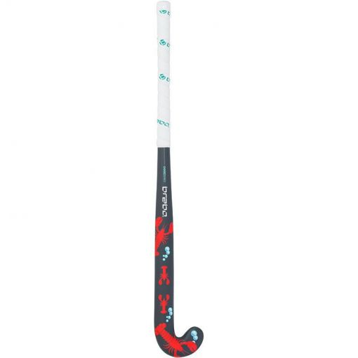 Brabo junior hockeystick O Geez Taping Lobster - 00009 multi-coloured