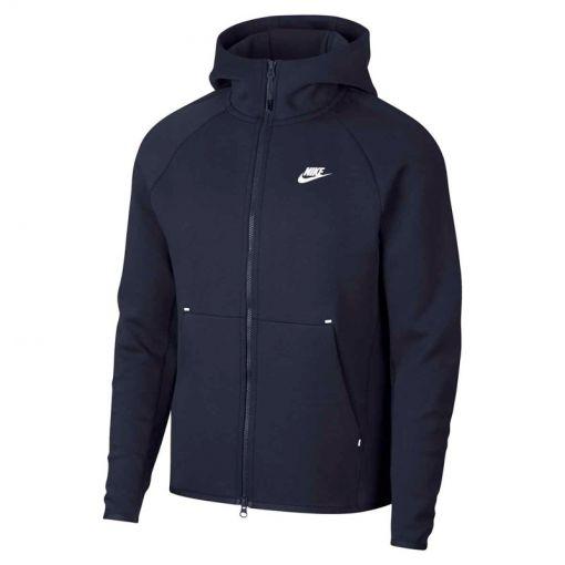 Nike heren vest Tech Fleece - Blauw