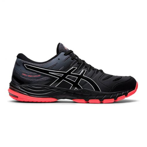 Asics dames indoorschoen Gel-Beyond 6 - 010 BLACK/SUNRISE RED