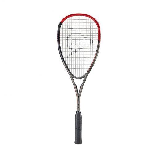 Dunlop squashracket D Sr Blackstorm Carbon - Zwart