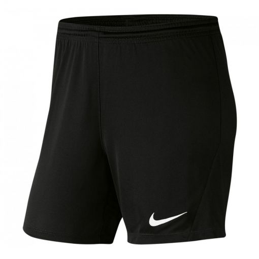 Nike dames short Dri-Fit Park 3 Womens Knit Short - Zwart