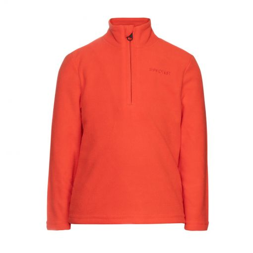 Protest junior pully Perfect 20 TD 1/4 zip top - 915 Orange Fire