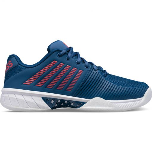 K-Swiss heren tapijtschoen Express Light 2 Carpet - STD DARK-BLUE-WHITE-BITTERSWEE