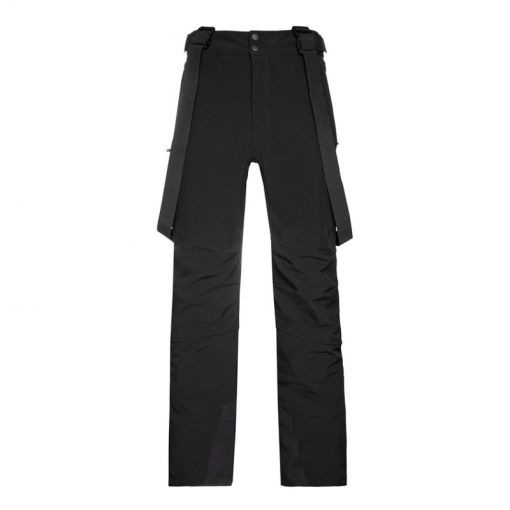 HOLLOW 20 softshell snowpants - Zwart
