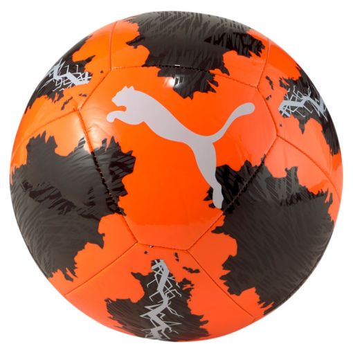 Puma voetbal Spin Ball - 002 SHOCKING ORANGE-PUMA BLACK