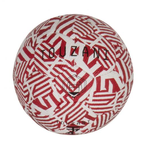 TZ-Ball Replica - Red - 100% Leathe - zwart