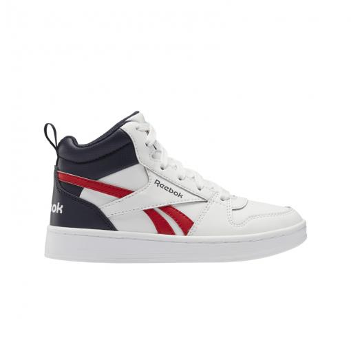 Reebok jongens sneakers Royal Prime Mid 2.0 - WHITE/POWNAV/VECR WHITE/POWNAV