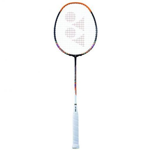 Yonex badminton Nanoray 60 FX Strung - geel
