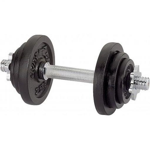 V3Tec halterset Kurzhantelset 15 kg - Zwart