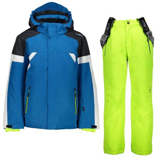 Kid Set Jacket + Pant - Blauw