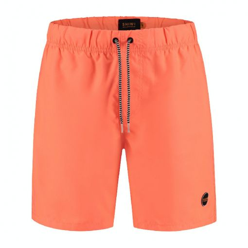 Shiwi heren zwemshort Mike Solid - Oranje