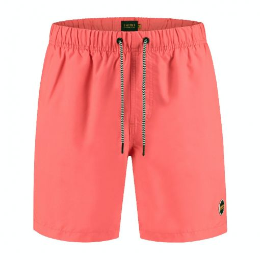 Shiwi heren zwemshort Mike Solid - Rood