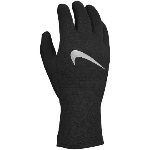 NIKE WOMEN'S SPHERE RUNNING GLOVES - 082 BlaBlaSil