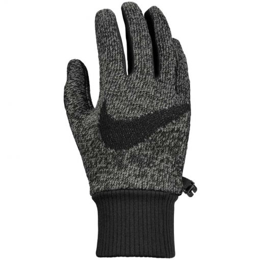 NIKE MEN'S HYPERSTORM KNIT GLOVES - 084 GreBlaBla
