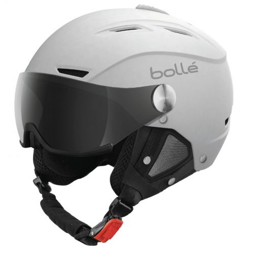 Bollé skihelm Backline Visor Soft - Wit