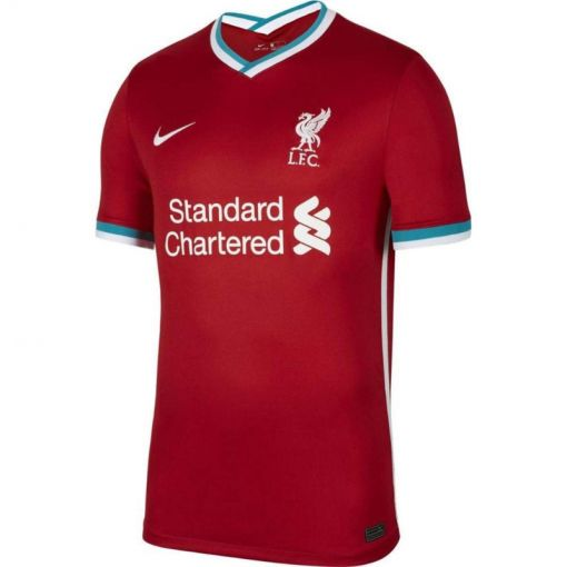 Liverpool thuis shirt 2020/2021 - 687 GYM RED/WHITE