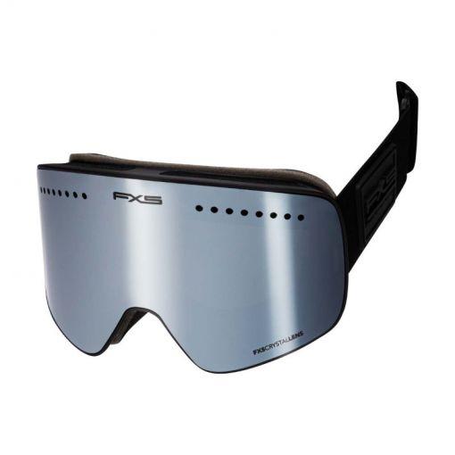 Falcon ski goggle FXS Two verwisselbare lens - Zwart
