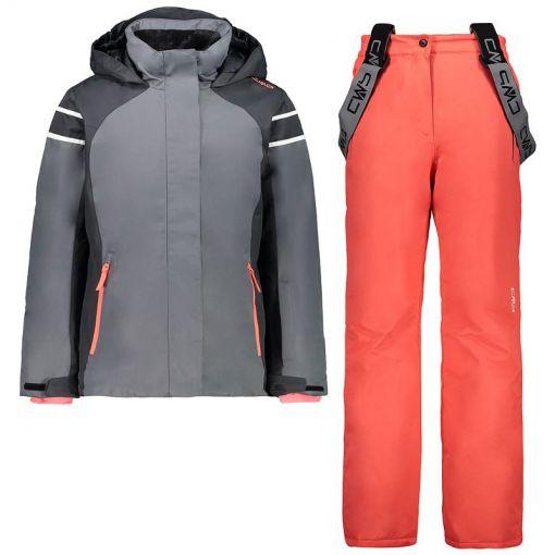 Kid G Set Jacket + Pant - Grijs