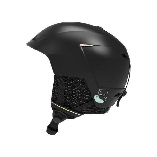 Helmet Icon Lt - Zwart