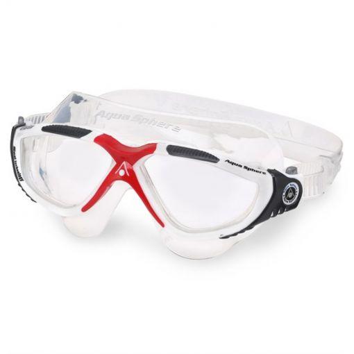 Vista Clear Lens - White/Dark Grey