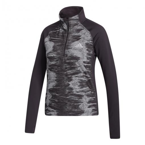 Adidas dames vest A.RDY 1/2 ZIP - NOBPRP/NOBPRP