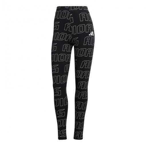 Adidas dames fitness tight W UR Tight - Zwart