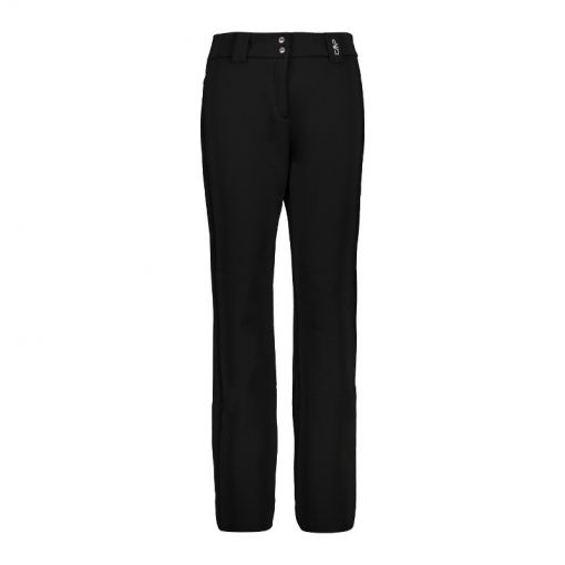 CMP dames skibroek Long Pant With Inner Gaiter - Zwart