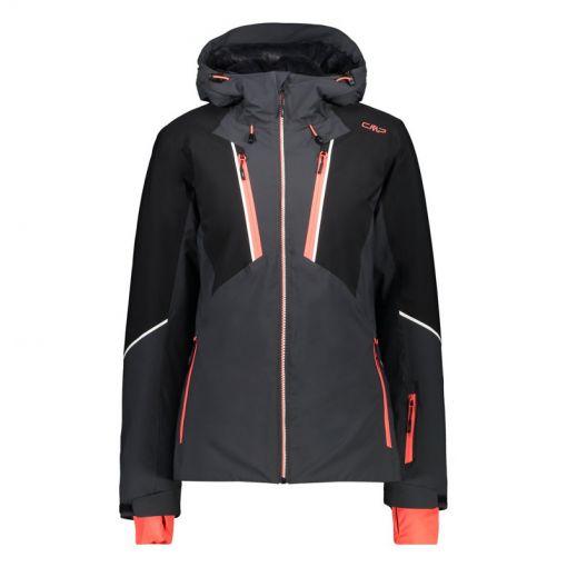 Woman Jacket Fix Hood - U423 Anthracite