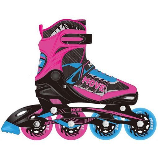 Fast Girl - Zwart/Roze/Blauw