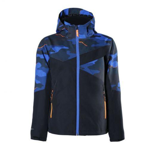Pander-AO-JR Boys Snowjacket - 0477 Bright Blue