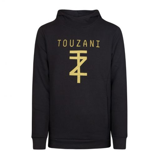 TZ Hoodie Jr - Black/ Gold
