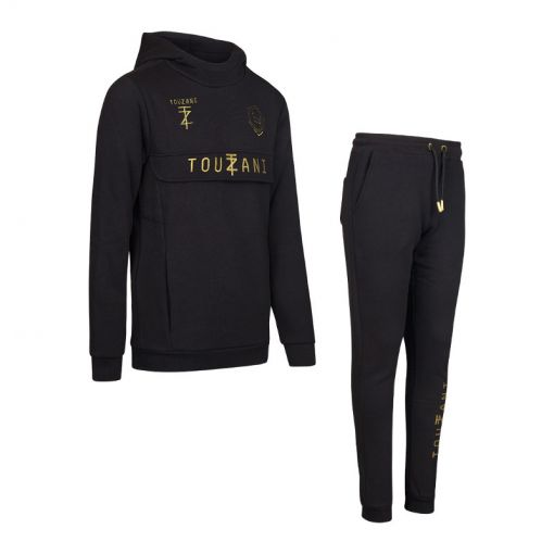 TZ Goals Suit Jr - Black/ Gold