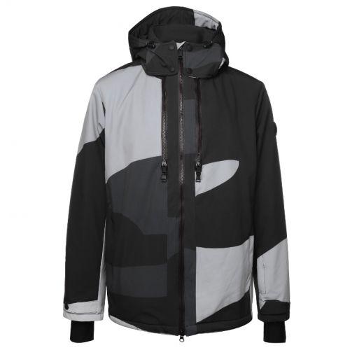 Mount Baker Jacket - Y005 Camo Grey