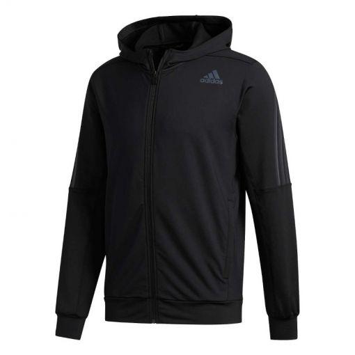 Adidas heren vest Aero 3S CW HDY - Zwart