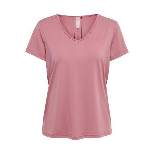 Only dames t-shirt Bako V-Neck Training SS Tee - 195001 Mesa Rose