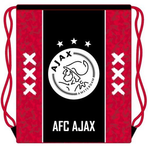 Zwemtas Ajax - Rood met Zwarte baan