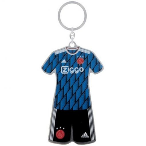 Sleutelhanger Ajax Minikit Away - Zwart
