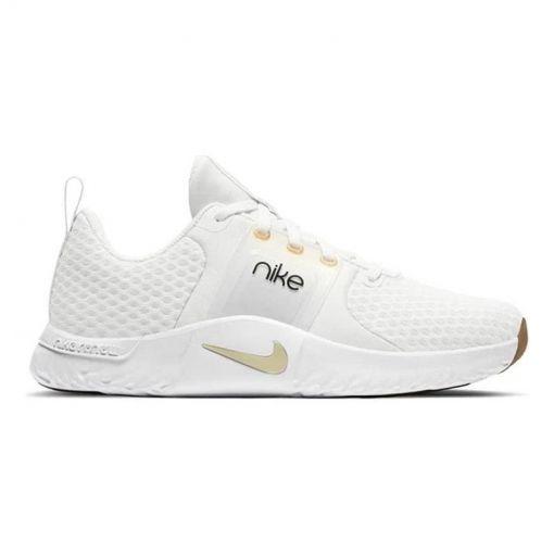 Nike dames fitness schoen In-Season TR 10 - 010 PLATINUM TINT/MTLC GOLD ST