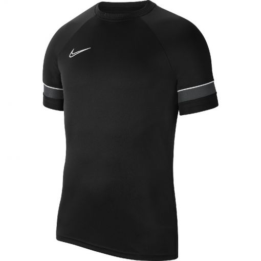 NIKE DRI-FIT ACADEMY MENS SHORT-SLEEVE - 014 BLACK/WHITE/ANTHRACITE/WHI