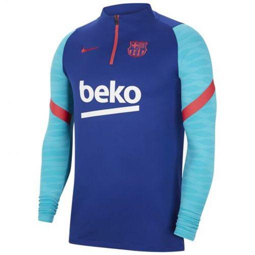 FC Barcelona junior trainingstop  - 456 DEEP ROYAL BLUE/LT FUSION